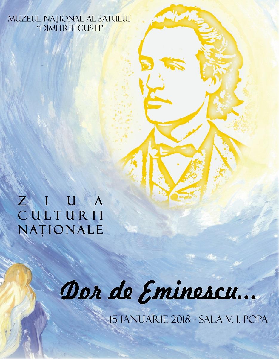 Dor de Eminescu la Muzeul Satului