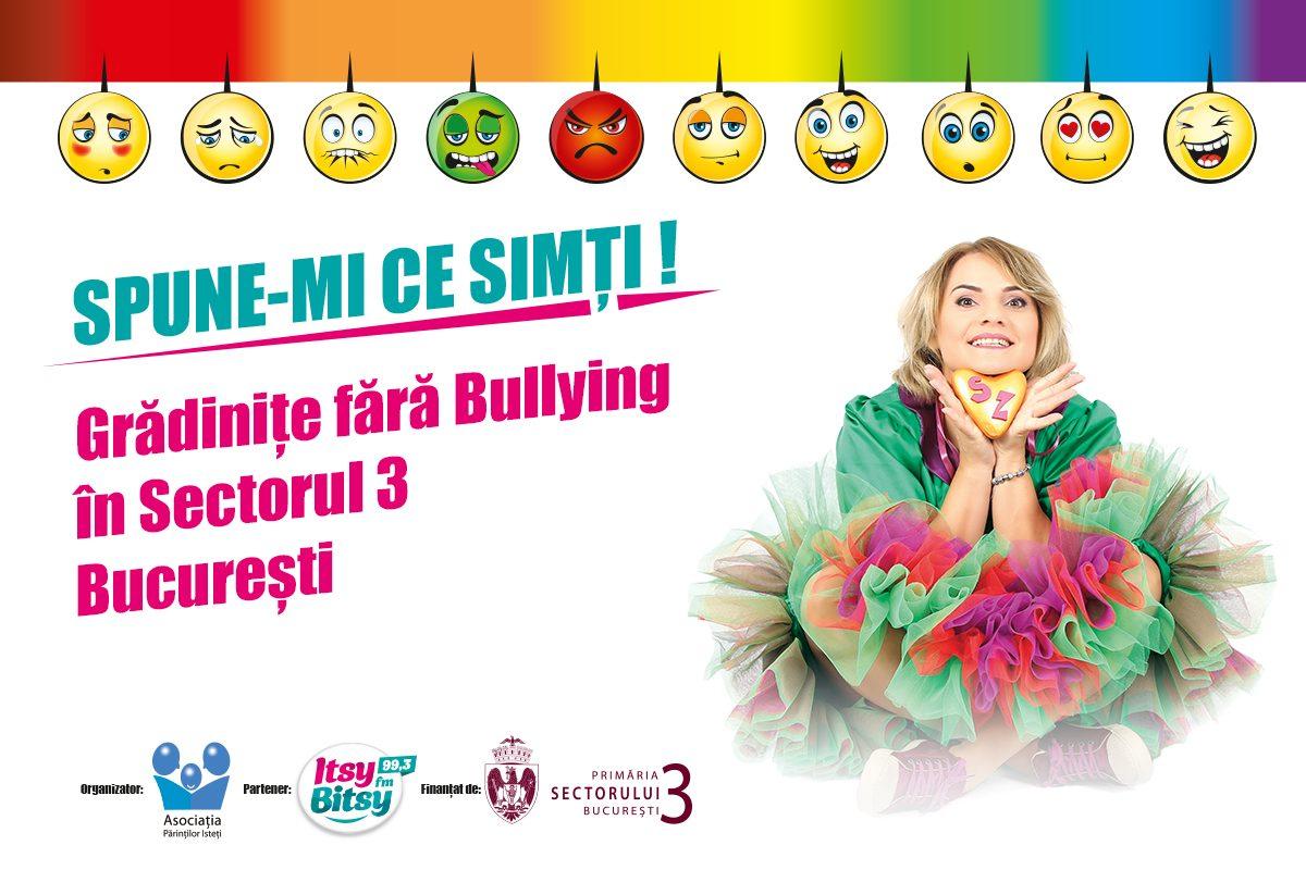 """Castigatorii concursului """"Gradinite fara Bullying in Sectorul 3"""""""