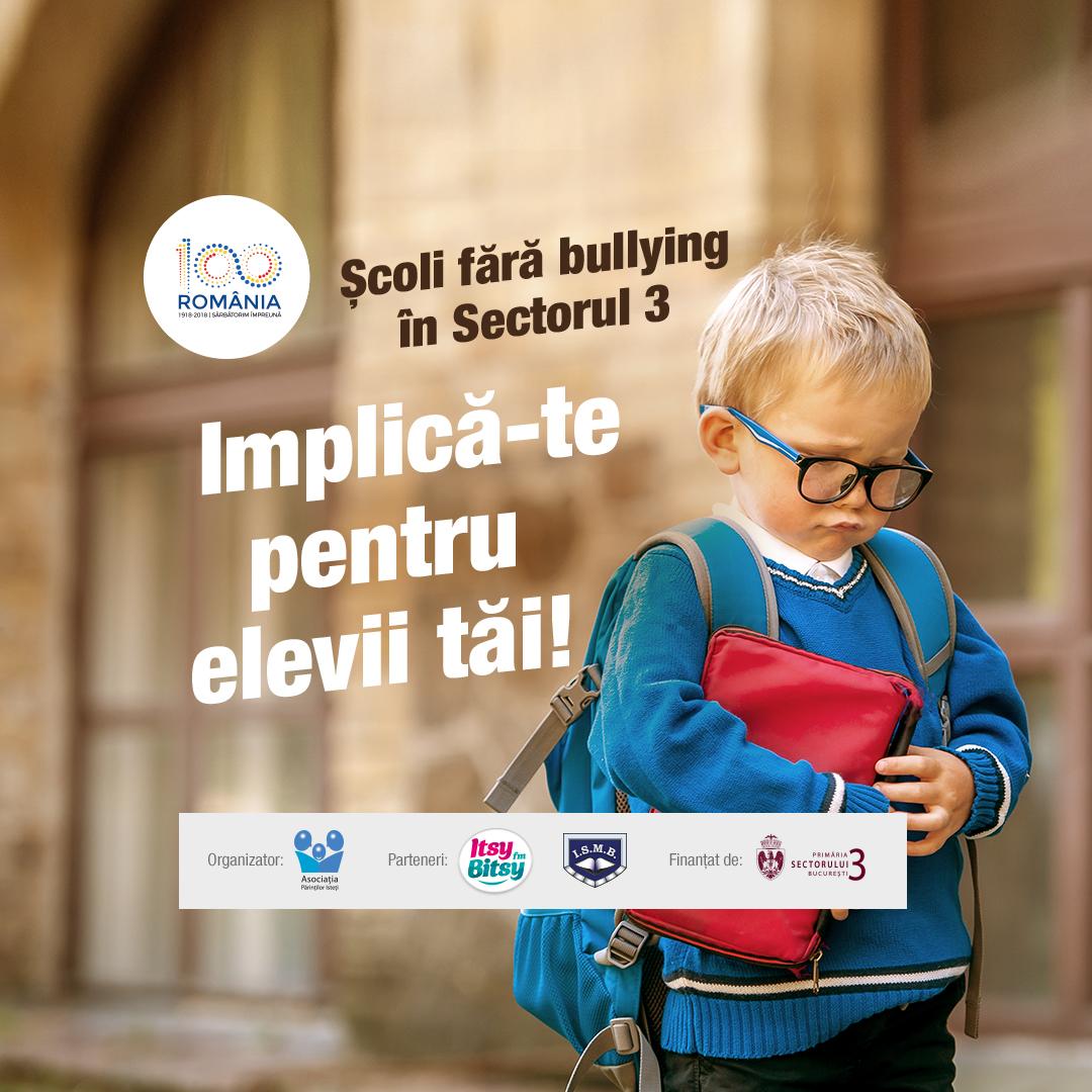 Sute de profesori, prezenti la conferinta Scoli fara bullying in sectorul 3