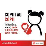 Copii cu copii: Romania este a 3-a tara din Europa cu cele mai multe mame adolescente
