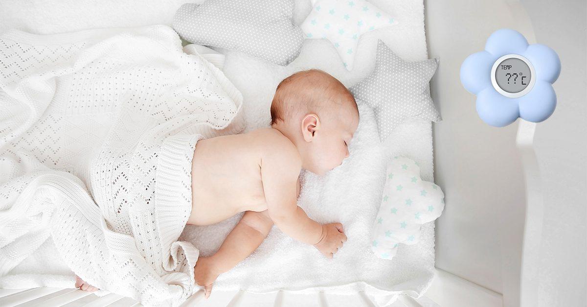 Cum setezi temperatura in camera bebelusului