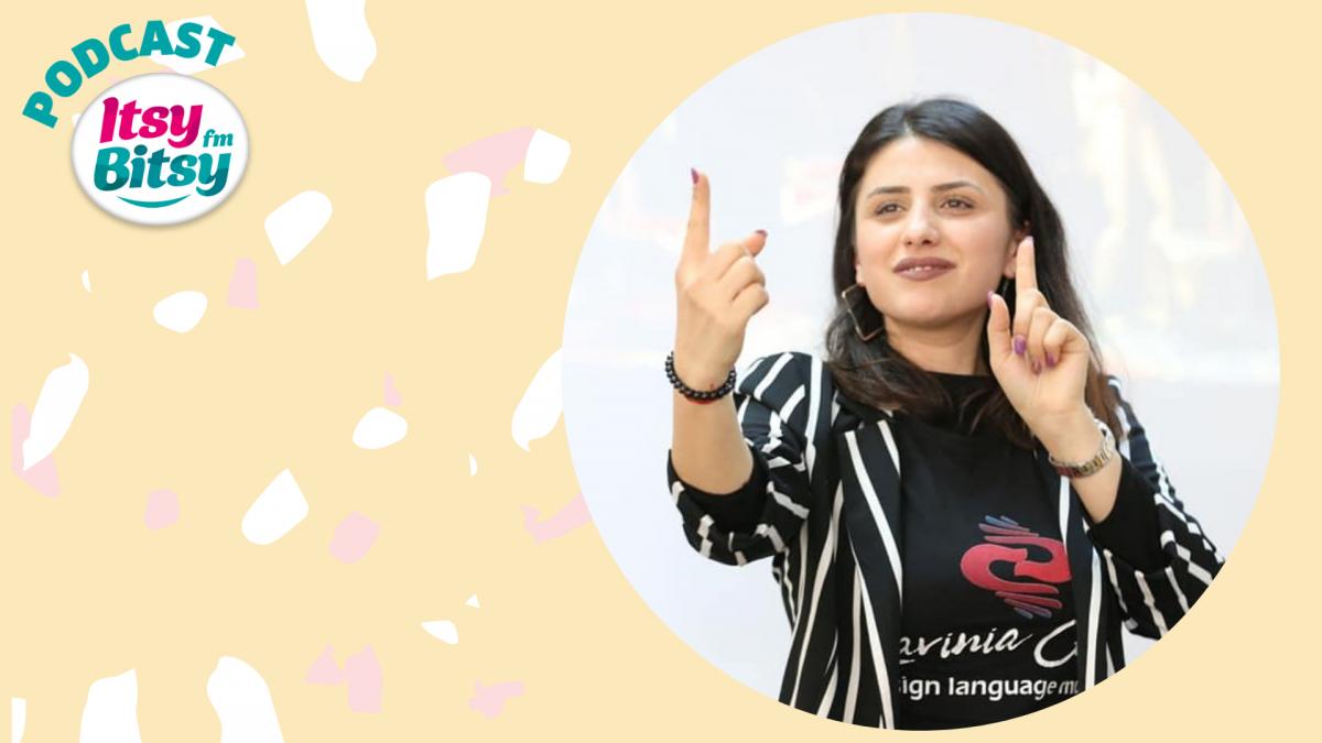 Povestile pentru copii de la Itsy Bitsy, traduse in limbaj mimico-gestual