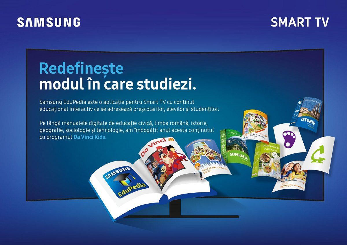Nou continut educativ si interactiv in platforma Samsung EduPedia™