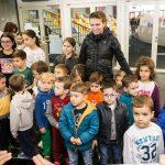 Simona Halep i-a sustinut pe micii patinatori in selectia pentru echipele de juniori la hochei