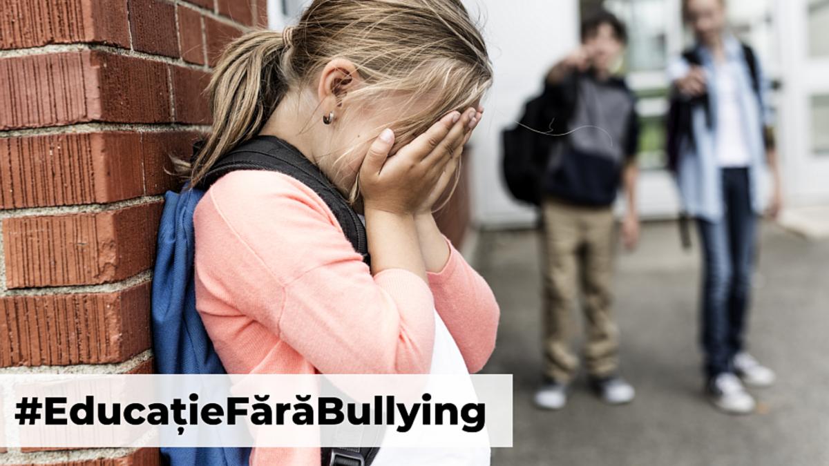 Bullying-ul interzis in scoli
