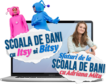 """LIVE de la """"Scoala de bani"""""""