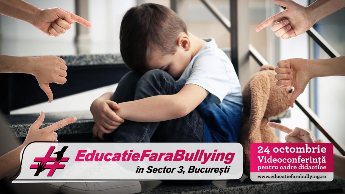 Peste 750 de cadre didactice au aflat cum pot face educatie fara bullying!