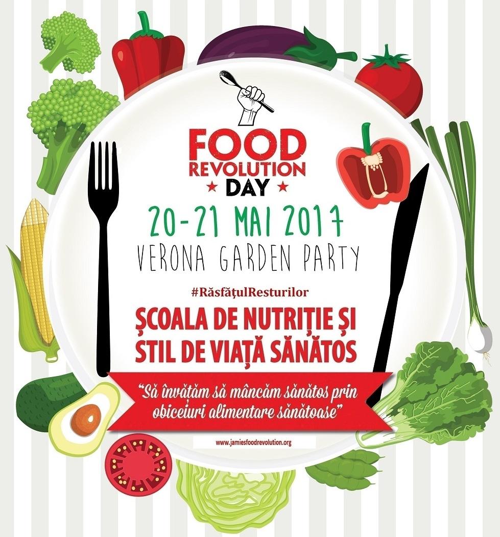 Pe 19 mai, sarbatorim Food Revolution Day!