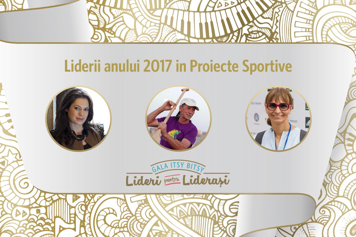 Gala Itsy Bitsy: Liderii anului 2017 in Proiecte Sportive