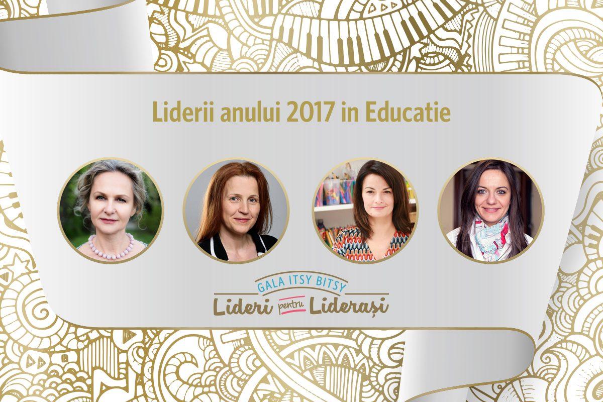 Gala Itsy Bitsy: Liderii anului 2017 in Educatie