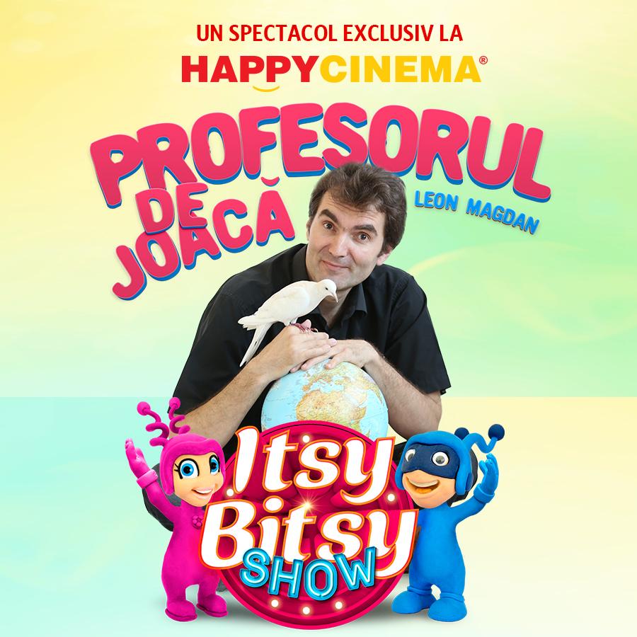 Itsy Bitsy Show: Nazdravanii cu Profesorul de Joaca