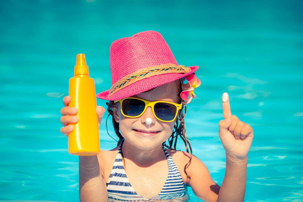 Idei de protectie solara pentru copilul tau