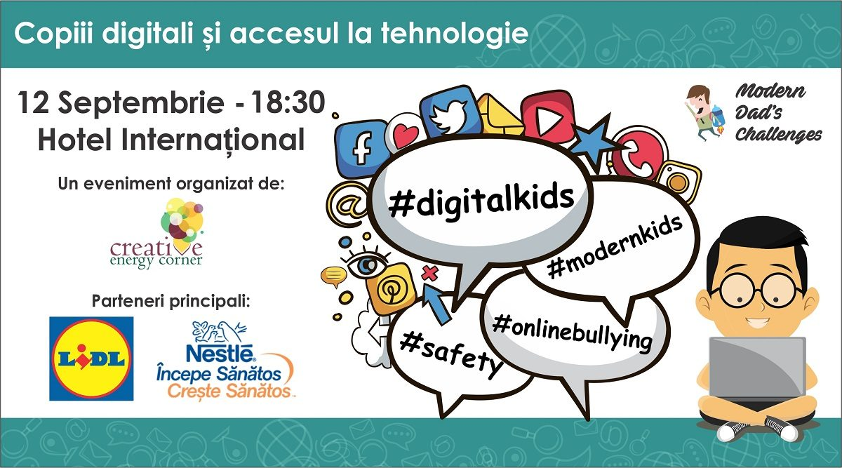 Modern Dad's Challenges, editia 9: Copiii digitali si accesul la tehnologie