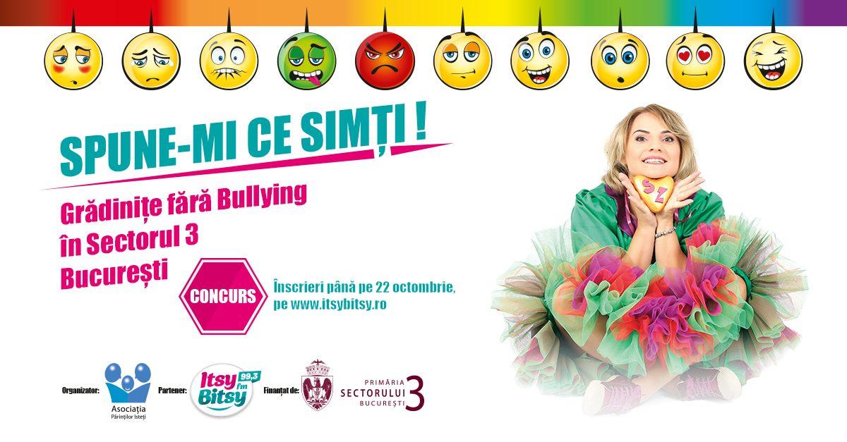 Concurs: Gradinite fara Bullying, in Sectorul 3, Bucuresti