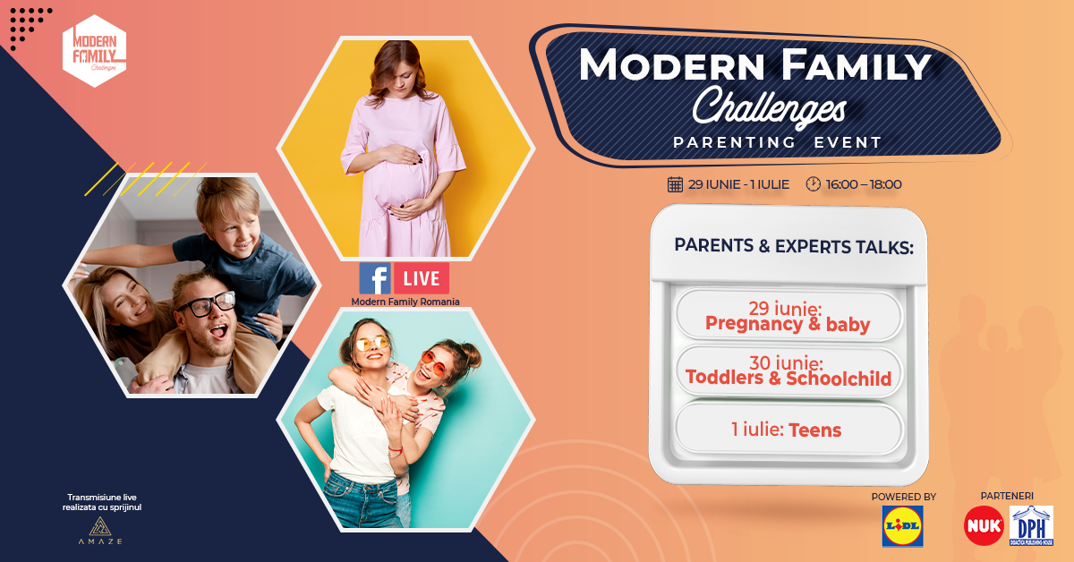 O noua editie Modern Family Challenges, online, intre 29 iunie si 1 iulie