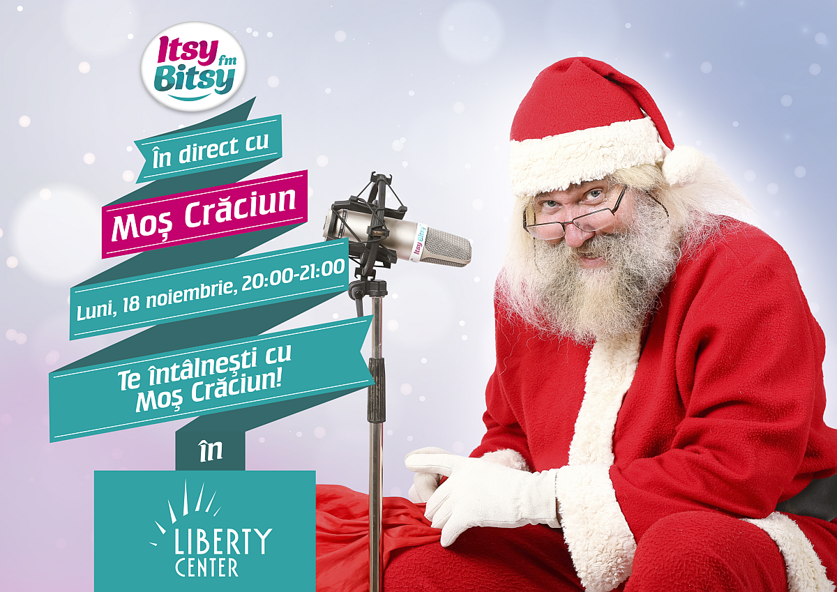 mos craciun vine la liberty center