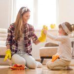 copil curatenie ajutor