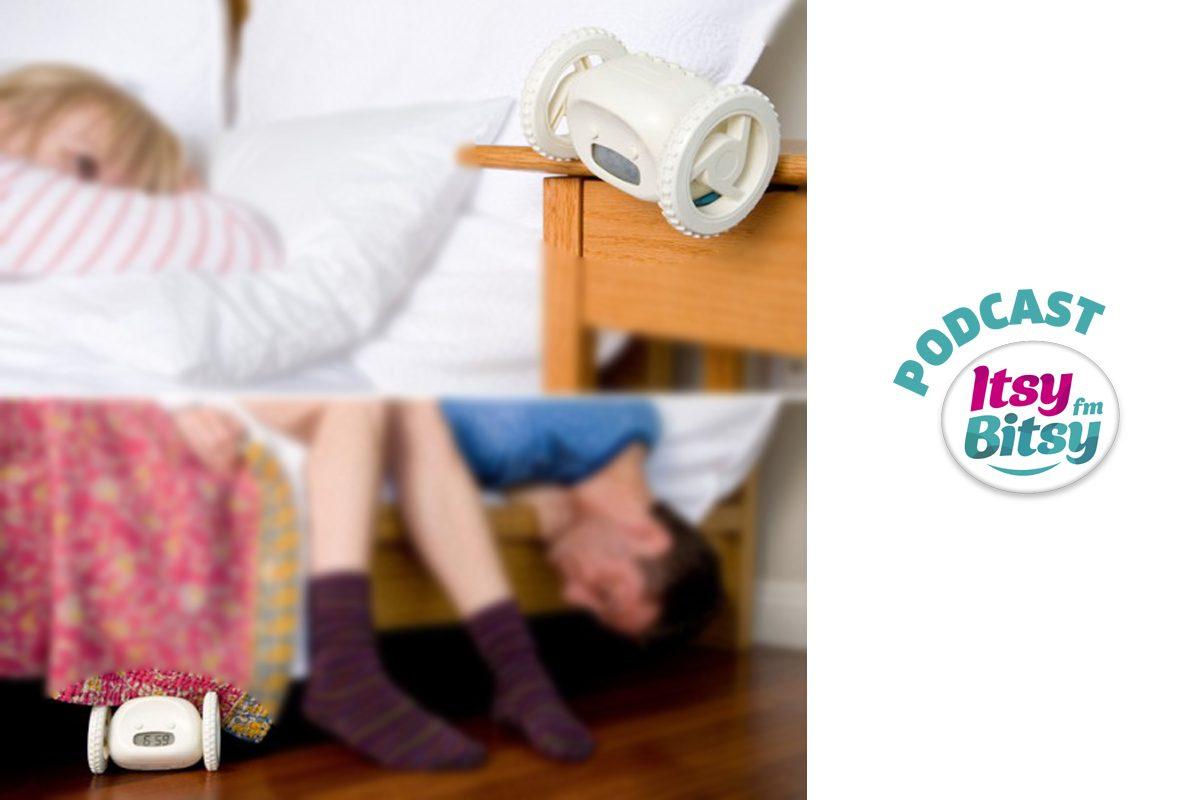 Gadgetul de Marti: Ceasul desteptator dupa care alergi
