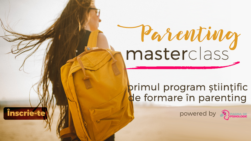 Parenting MasterClass: Primul program stiintific de formare in parenting