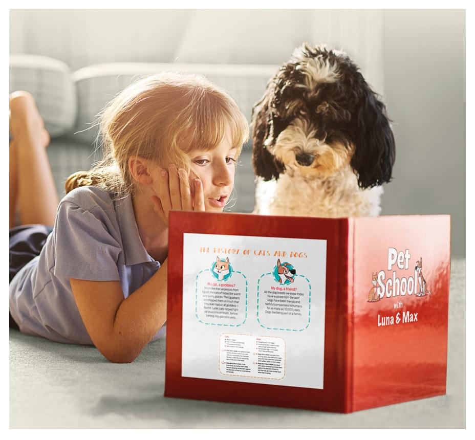 Beneficiile cresterii celor mici in compania animalelor